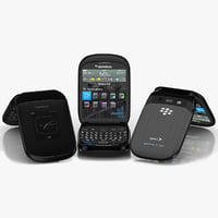 BlackBerry Style 9670 3D models