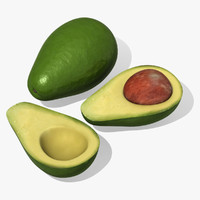 Avocado 3D models