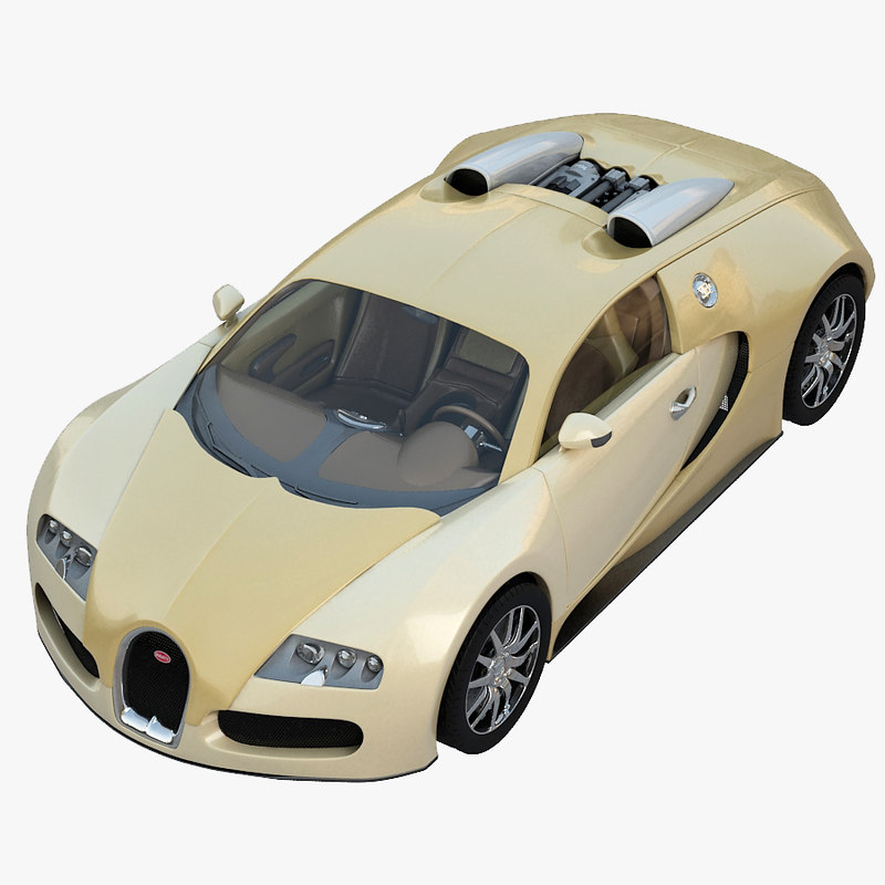 3d model bugatti veyron sport luxury. Black Bedroom Furniture Sets. Home Design Ideas