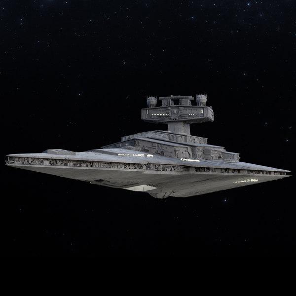 Star Destroyer 3D Models