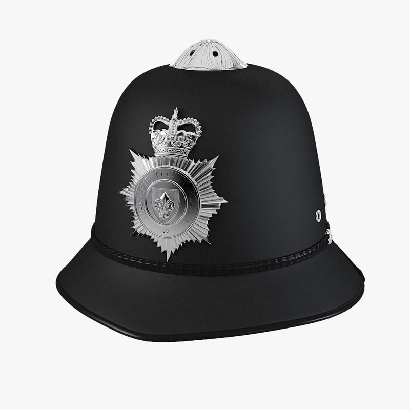 a English Police Bobby Helmet hat famous british crown0001.jpg
