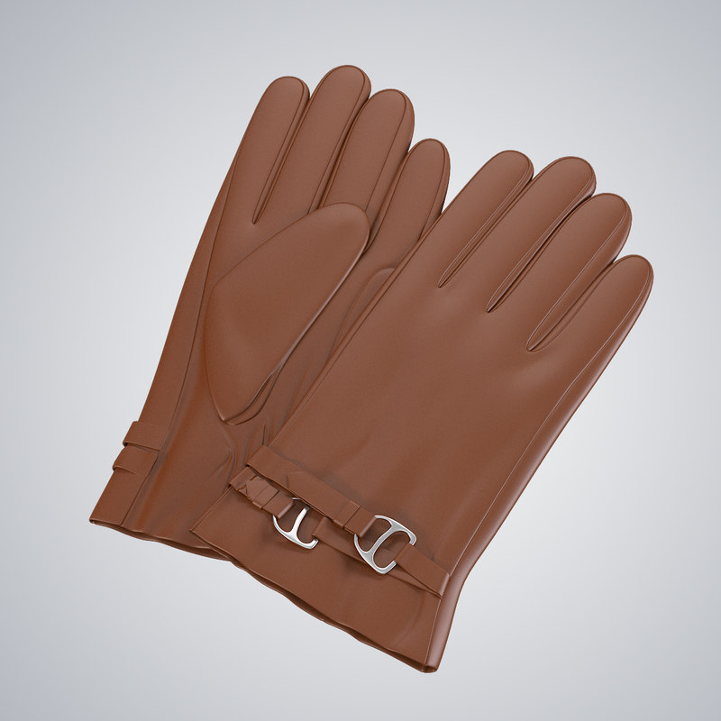 b Ralph Lauren Women Gloves luxury lady leather0001.jpg