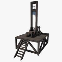 guillotine 3D models