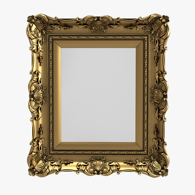 a Carved Picture Frame mirror baroque victorian carving ACCENT VINTAGE OLD ANTIQUE .jpg