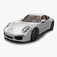 porsche 911 3D models