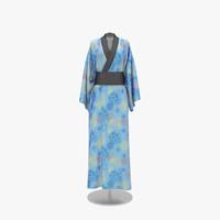 kimono 3D models