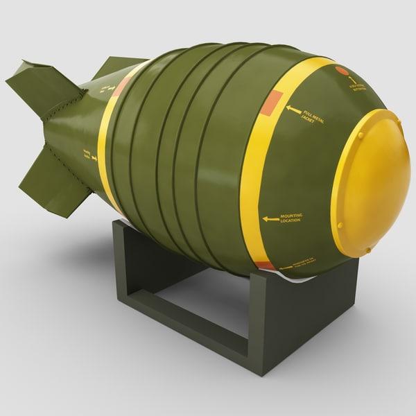Nuclear Bomb Mark 6 3D Models