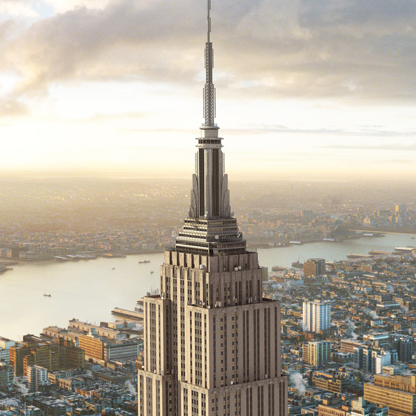 Empire State Building New York 3D Models