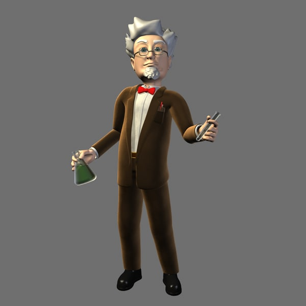 The Professor 3D Models