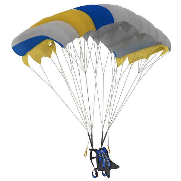 Parachute 2 3D Models