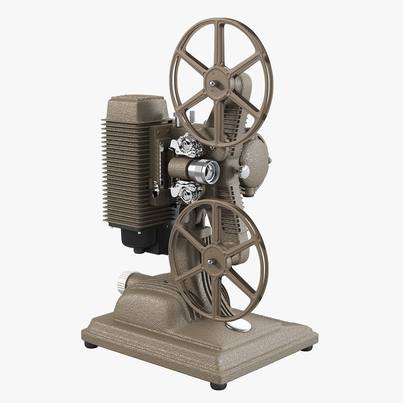 a Revere Model 85 8mm Film Projector 1950's vintage antique retro movie tape camera reel0001.jpg
