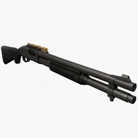 Remington 870 3D models