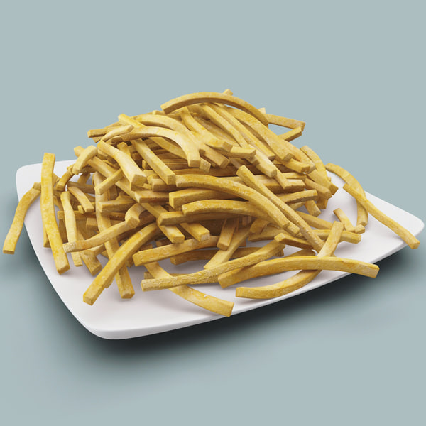 French Fries 3D Models