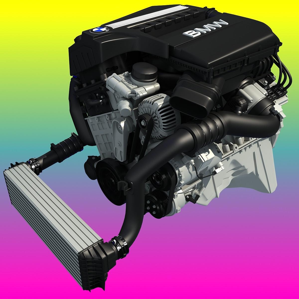BMW TwinPower Turbo 6 Cylinder Engine