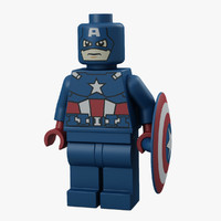 Captain America 3D models