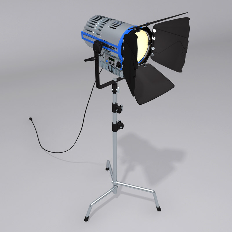 arri l7 c lights obj