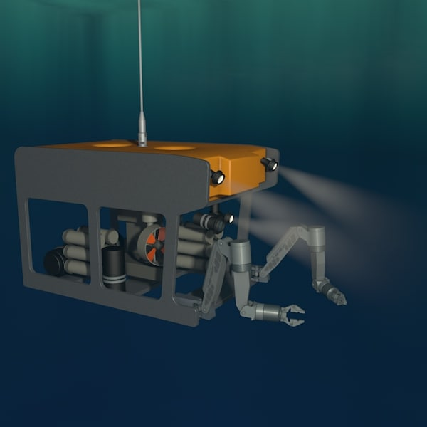 ROV - Work Class ROV 3D Models
