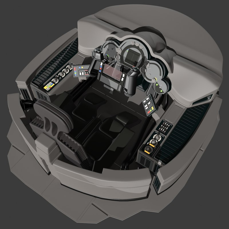 sci fi spacecraft cockpit single person - photo #20