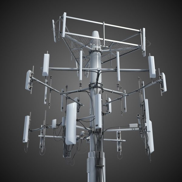 Communication Antena 3 3D Models