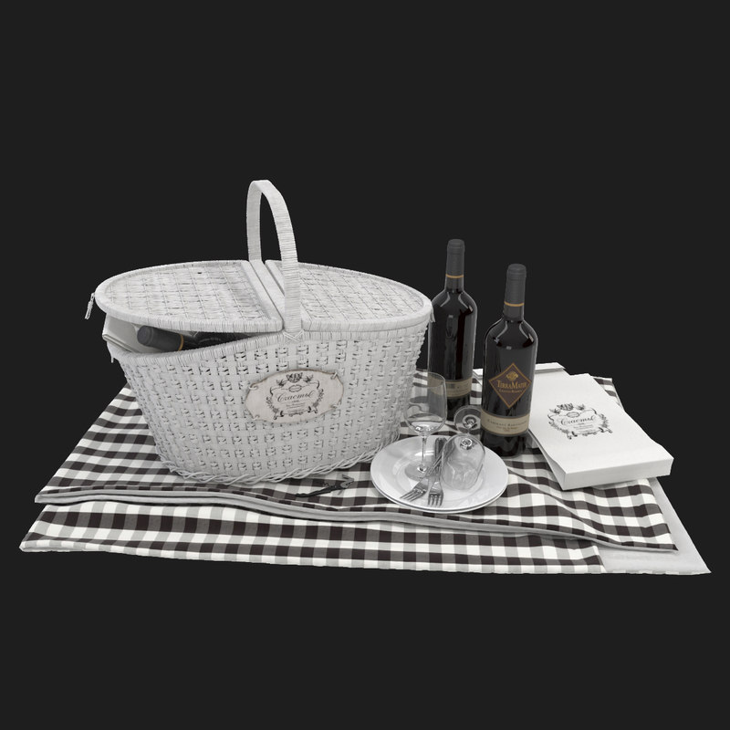 Basket For Relaxing Holiday