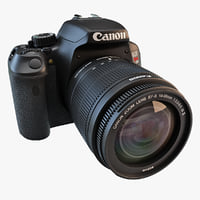 Canon Rebel 3D models
