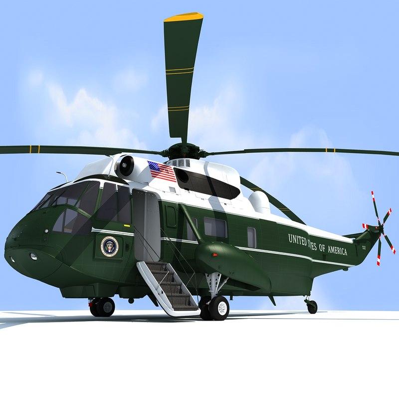 Marine One VH-3D Sea King