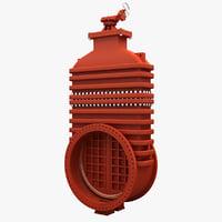 butterfly valve 3D models
