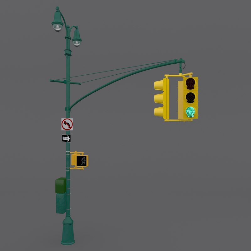 New York Street Light