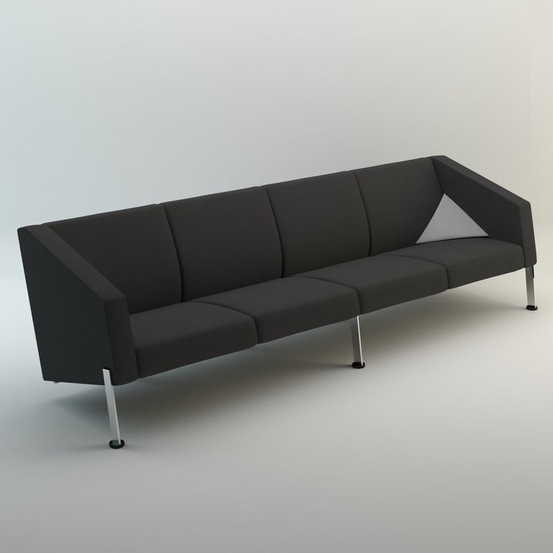 Decision Sofa with Arms (4-Seater)