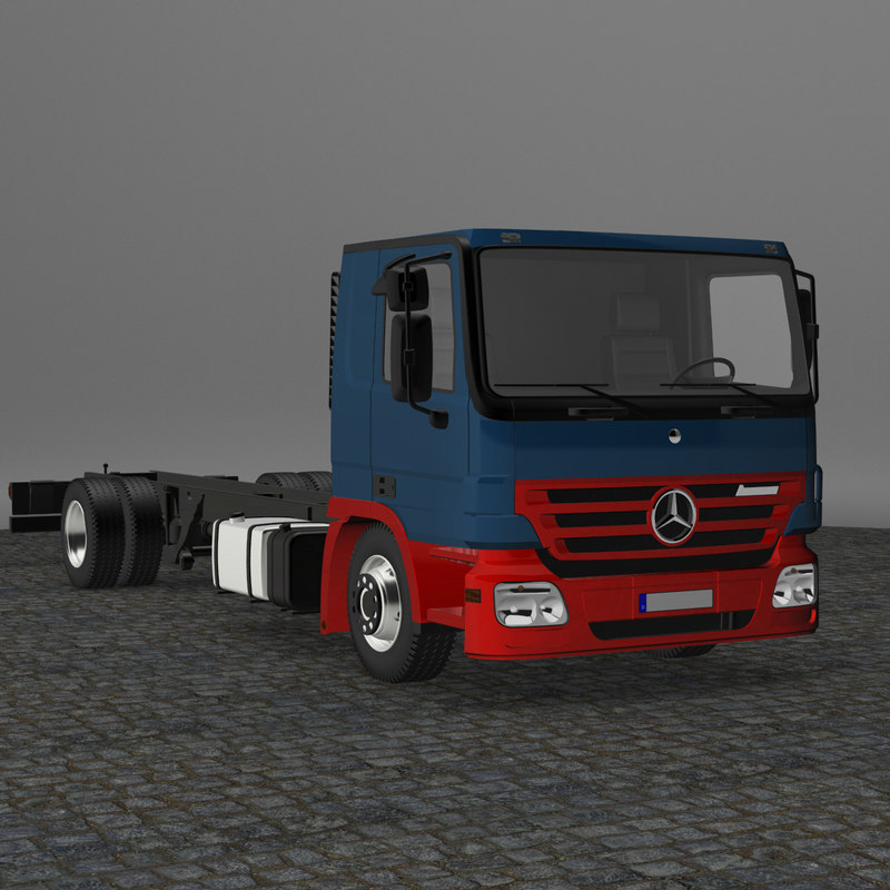 MB Actros Flat Roof