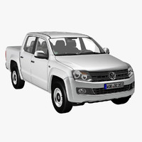 VW Amarok 3D models