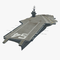 USS Constellation 3D models