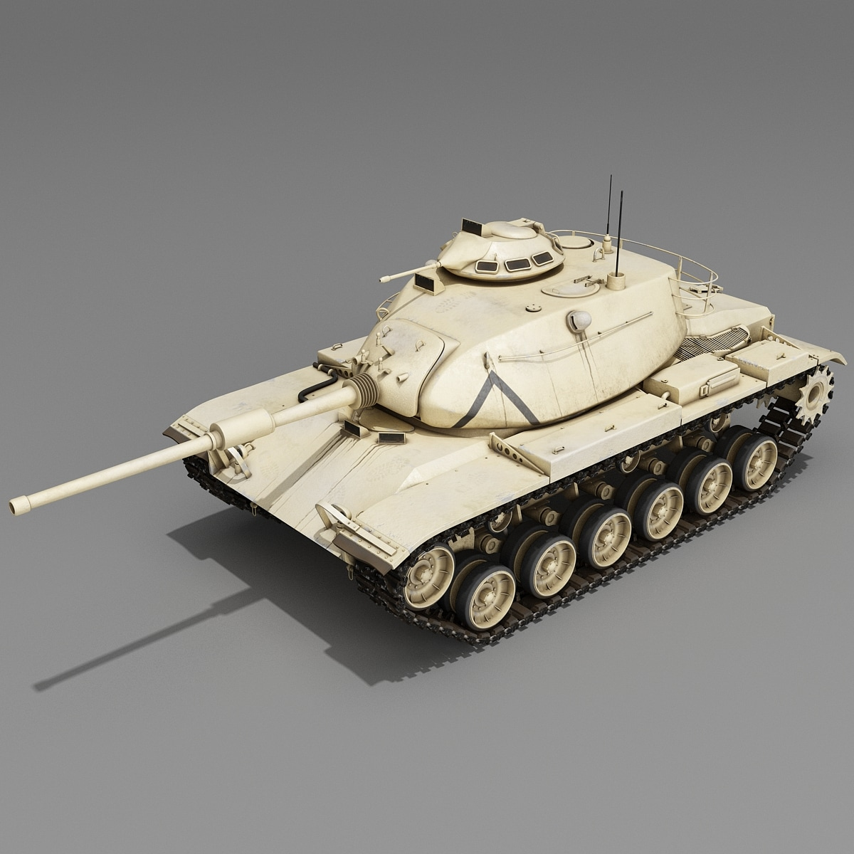 M60 Patton US Combat Tank 2