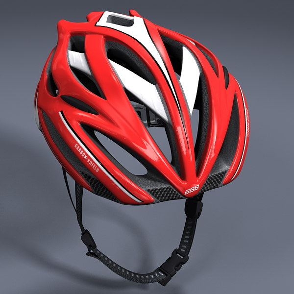 Bicycle Helmet Texture Maps