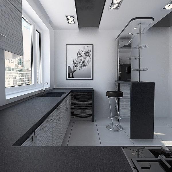 Kitchen 1 3D Models