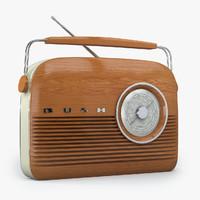 radio 3d models