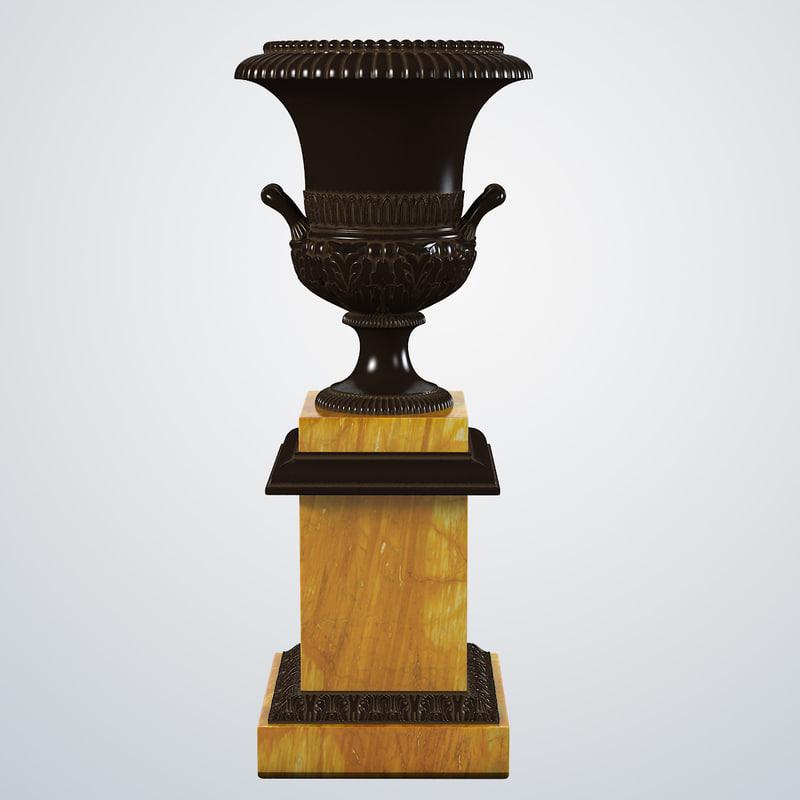 b victorian cast iron garden urn baroque classic vase planter vintage antique planter0001.jpg