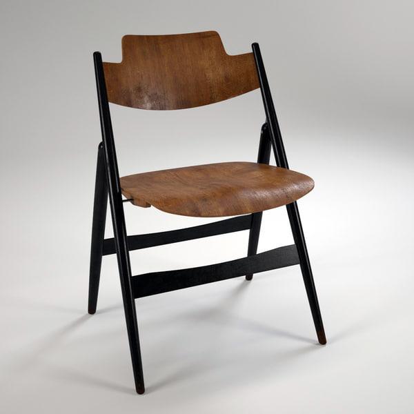 SE 18 foldable chair 3D Models