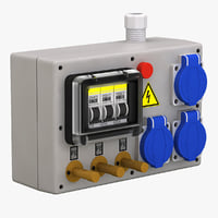 electrical panel 3D models