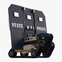 riot shield 3D models