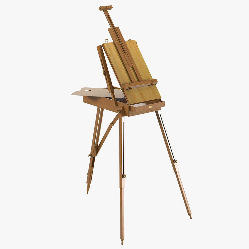 a Professional easel drawing paint painting artist canvas picture support wooden traditional classic0001.jpg