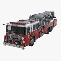ladder truck 3D models