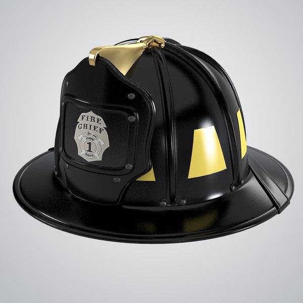 Firefighter Helmet 3D Models