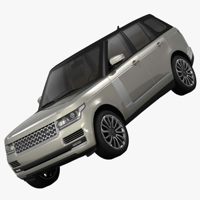 Land Rover Range Rover L405 2014 3d Model From Humster3d: Land Rover Range Vogue 3d Max