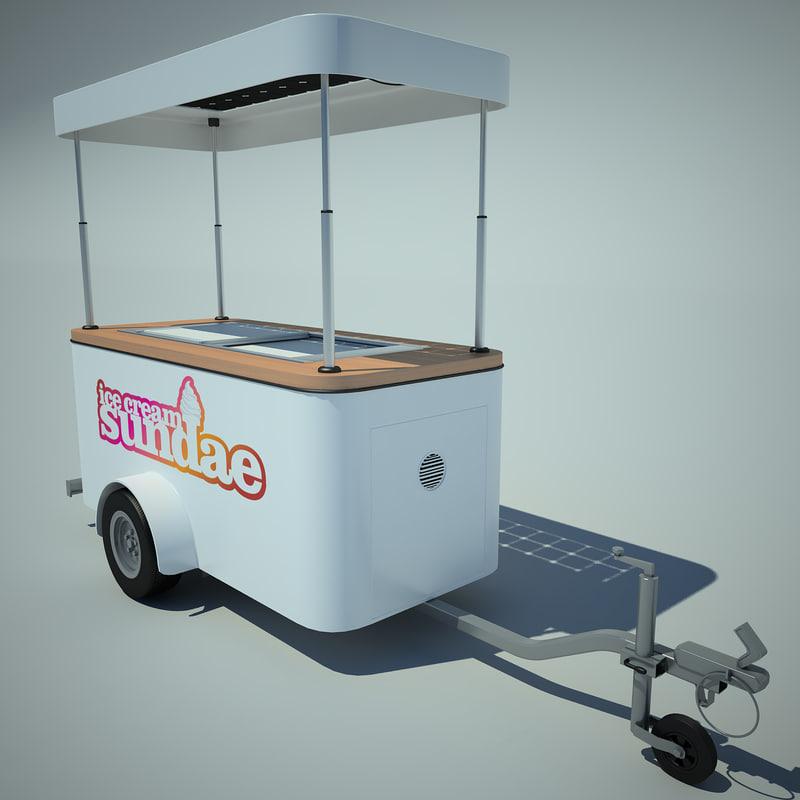 Ice Cream Cart 01