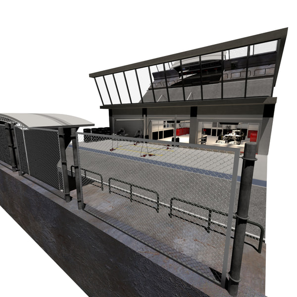Pit Garage 3D Models