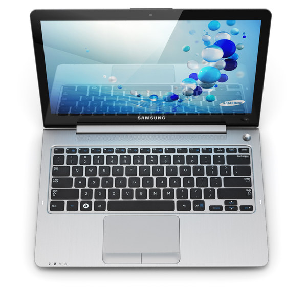 Samsung Series 5 Ultrabook 3D Models