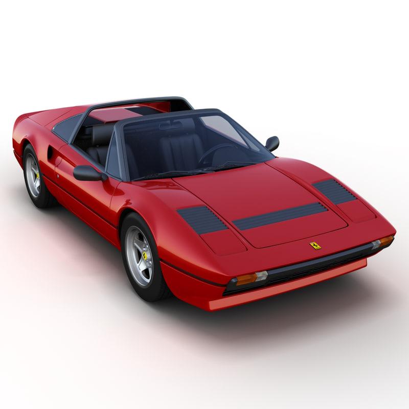 Ferrari 308 Gts 3d Max