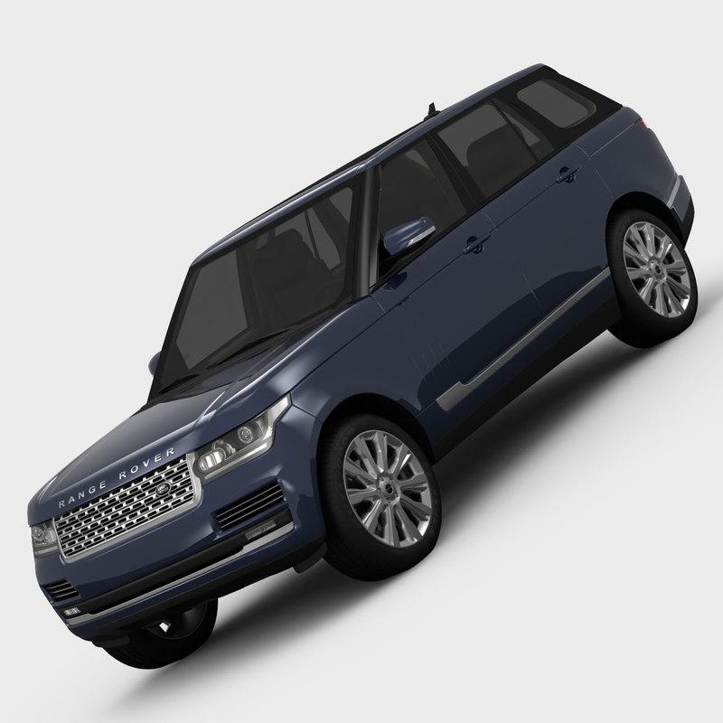 land rover range l40 3d model