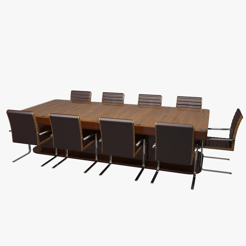 3d conference table for Epl table 99 00
